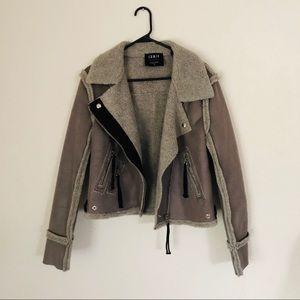 Jackets & Blazers - Shearling Moto jacket
